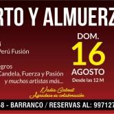 Concierto de Música Criolla y Almuerzo en Lima