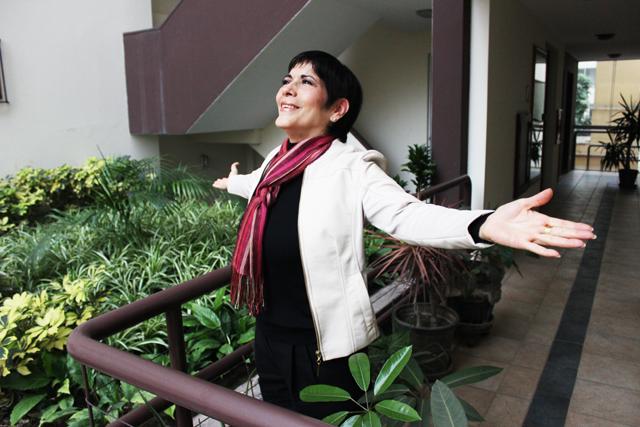 """Cecilia Barraza: """"Estoy como cañón"""""""