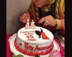 Eva Ayllón cumple 45 años cantándole al Perú