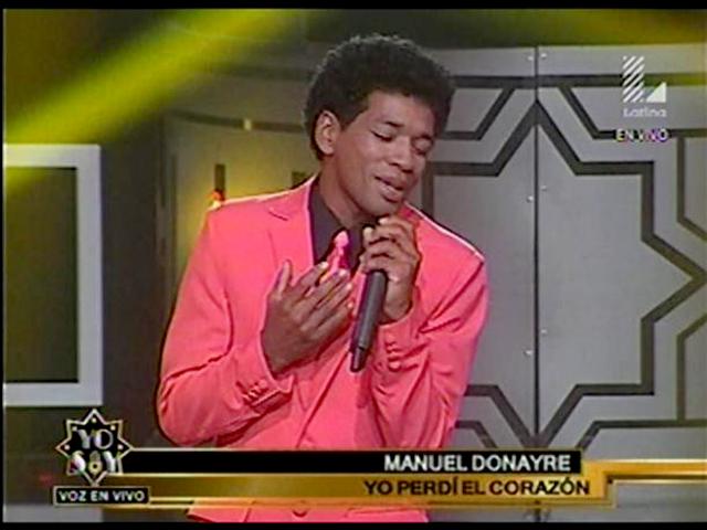 """Imitador de Manuel Donayre cautivó al jurado de """"Yo Soy"""" con """"Yo Perdí el Corazón"""""""