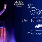 Eva Ayllón concierto en el Teatro Japonés de Lima
