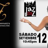 Sofía con Z concierto en Jazzone – Lima