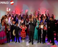 Video de fin de fiesta para celebrar al Perú
