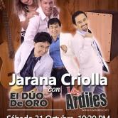 Los Ardiles concierto en La Estación de Barranco, Lima