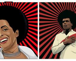 Muestra de obras gráficas sobre la cultura afroperuana