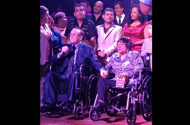 Augusto Polo Campos y Lucila Campos recibieron homenaje en Barranco