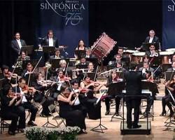 Cultores del repertorio criollo antiguo junto a la Orquesta Sinfónica Nacional en 2016