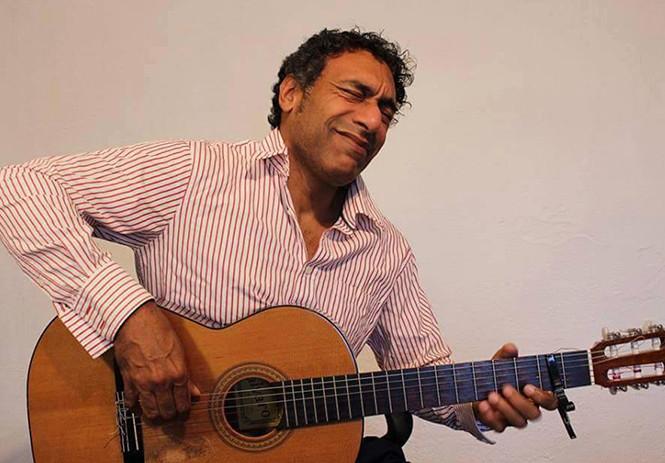 Octavio Santa Cruz graba en Madrid disco 'Más allá del Perú'