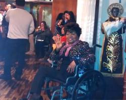 Lucila Campos se recupera de neumonía en el hospital