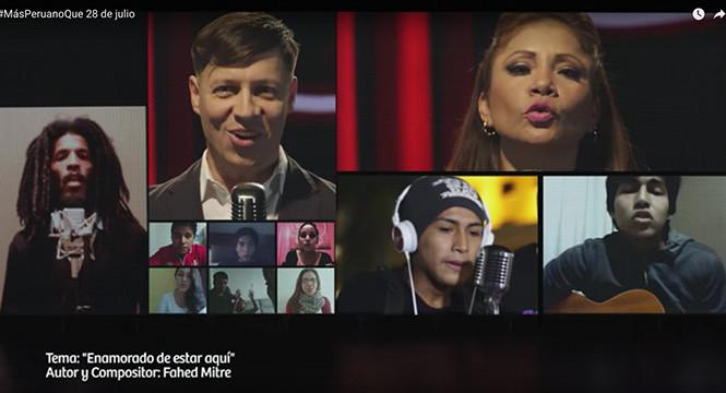 Celebran aniversario patrio con música criolla en parques zonales y en redes sociales