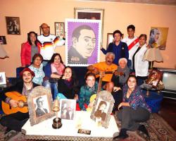 Familia Avilés recordó aniversario patrio de Chile con grupo criollo de Santiago