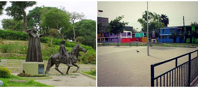 Plazas Chabuca Granda alrededor del mundo