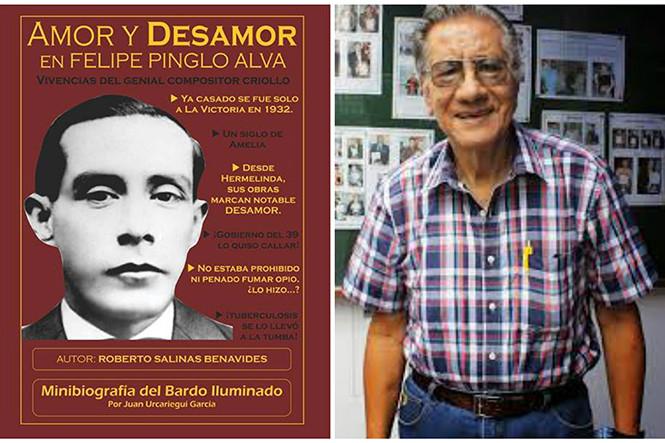 Fuerzas para Roberto Salinas, biógrafo de Felipe Pinglo