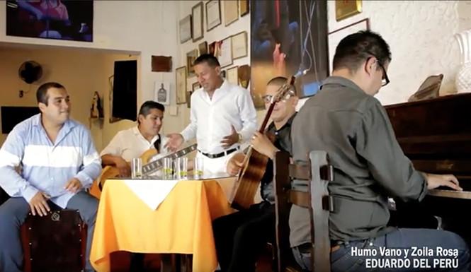 Eduardo del Perú presenta su nuevo video