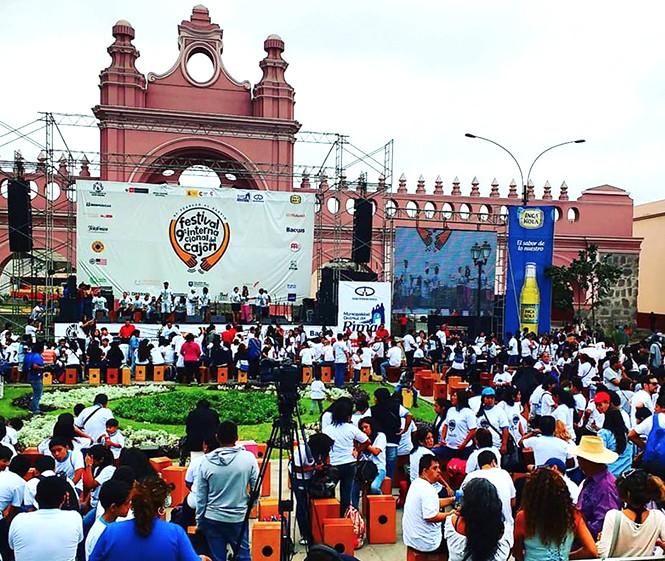 10° Festival Internacional del Cajón Peruano se realizará en el Rímac