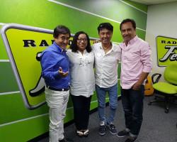 Criollos de aniversario: Los Ardiles y Lucy Avilés 1 y 3 años en la radio
