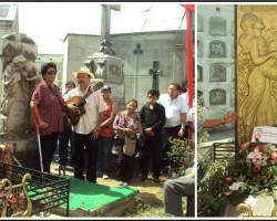 Con romería criolla recordaron a Felipe Pinglo a los 81 años de su muerte