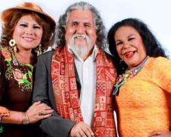 Eva Ayllón, Manuelcha Prado y Amanda Portales en Serenata Criolla Andina