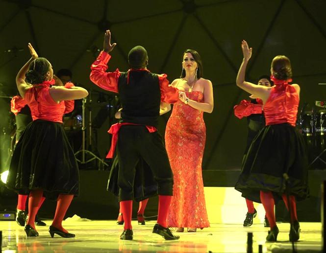 Fabiola de la Cuba quiere cantar en las plazas de las 25 regiones del Perú