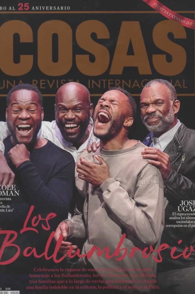 """El linaje musical de los Ballumbrosio en """"Cosas"""""""