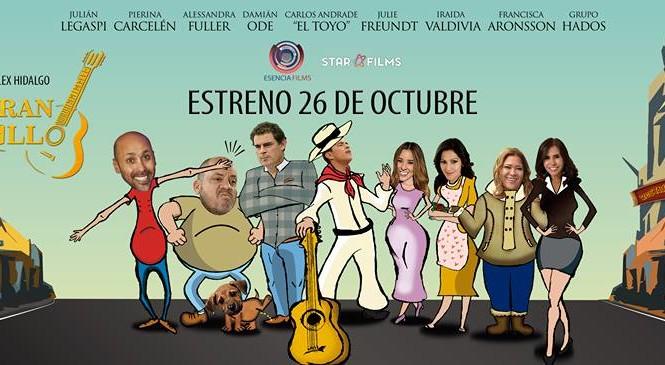 """Julie Freundt e Iradia Valdivia en la película """"El gran criollo"""""""