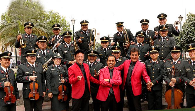 Los Ardiles y Orquesta de la PNP unen talentos para celebrar la primavera