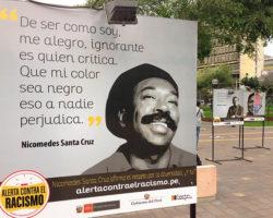 Frases de Nicomedes Santa Cruz y Felipe Pinglo en campaña contra el racismo