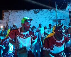 Fiesta de blanco en El Carmen